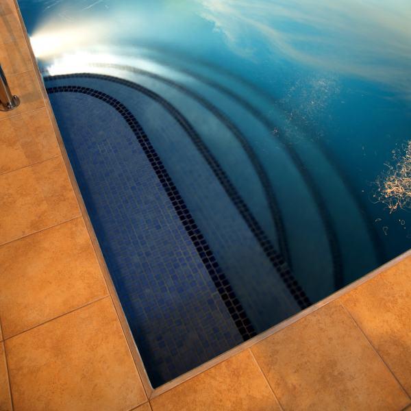 Vnitřní bazén a odvlhčování