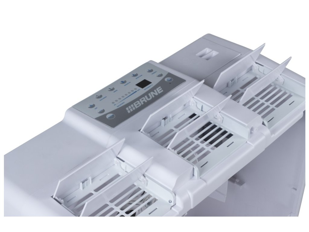 Brune B zvlhčovač vzduchu ovládací panel
