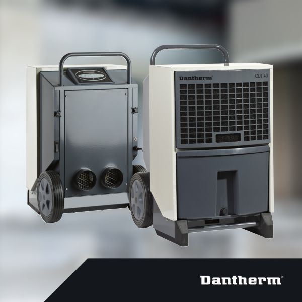 Dantherm průmyslové a stavební odvlhčovače