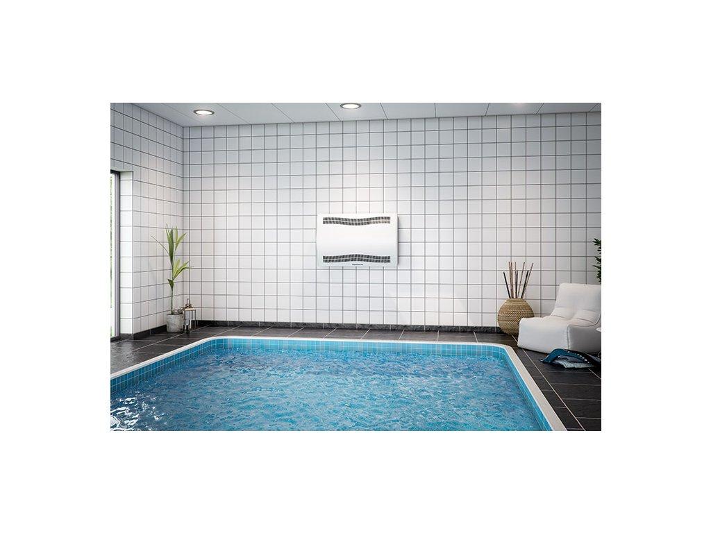 Dantherm CDP odvlhčovač u bazénu