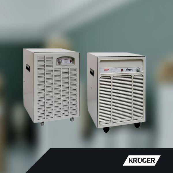 Kruger mobilní odvlhčovače vzduchu